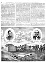History Page 022, Eastern Townships and South Western Quebec 1881